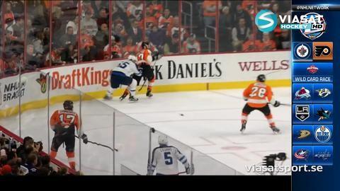 Sammandrag: Philadelphia-Winnipeg: 3-2 (efter övertid9