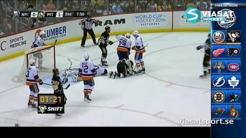 Sammandrag: Pittsburgh - NY Islanders 2-1 (S/O)