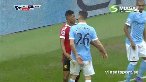 Sammandrag: Rashford sänkte Man City i derbyt