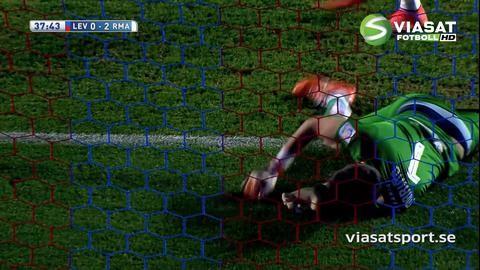 Sammandrag: Real tog tre poäng borta mot Levante