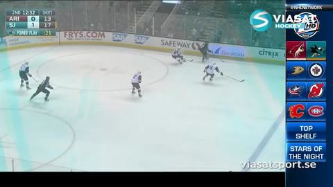 Sammandrag: San Jose-Arizona (3-0)
