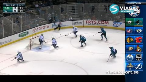 Sammandrag: San Jose - Dallas 2-4