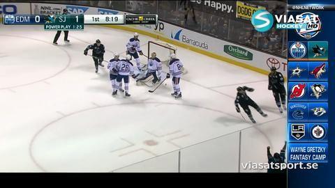 Sammandrag: San Jose-Edmonton (3-6)