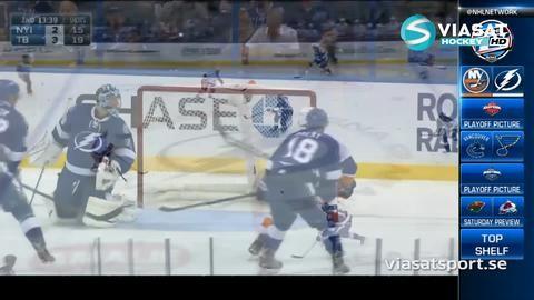Sammandrag: Tampa Bay - NY Islanders 7-4