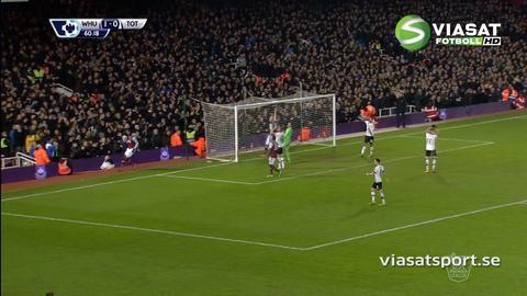 Sammandrag: Tidigt nickmål gav West Ham segern