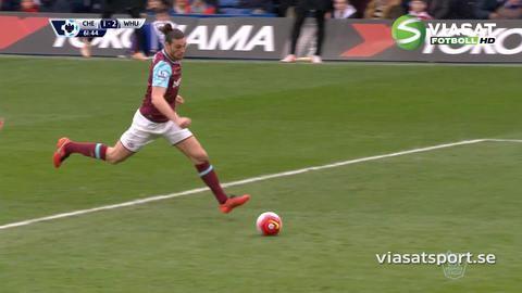 Sammandrag: Tungt poängtapp för West Ham på Stamford Bridge