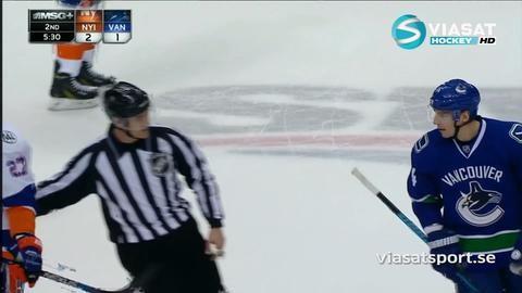 Sammandrag: Vancouver-Islanders: 2-3