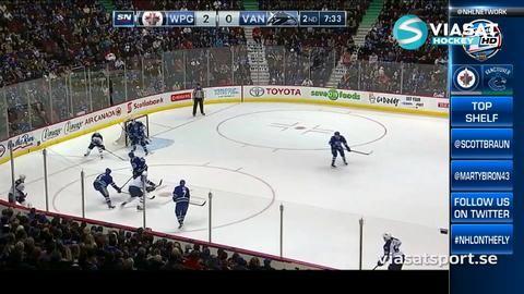 Sammandrag: Vancouver - Winnipeg 2-5