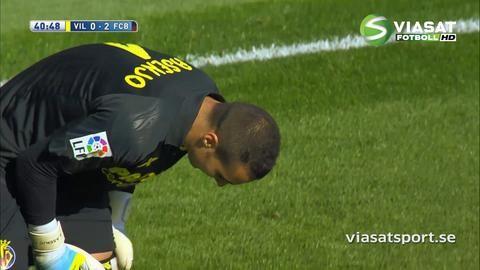 Sammandrag: Villareal vände mot Barcelona - knep poäng