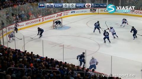 Sammandrag: Winnipeg-Edmonton 1-2