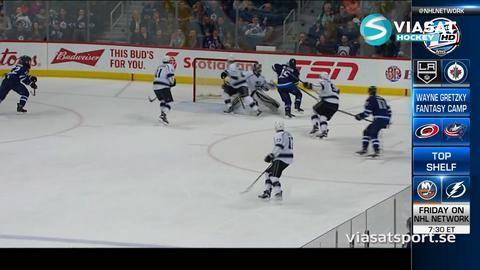 Sammandrag: Winnipeg-LA Kings (4-1)