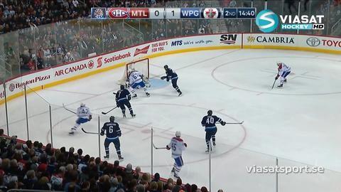 Sammandrag: Winnipeg-Montreal (4-2)