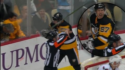 TV: Får målet bortdömt - då blir Crosby fullkomligt vansinnig