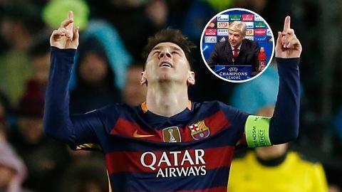 """Vackra hyllningen till Messi: """"Förvandlar det normala till konst"""""""