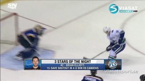 Video: De tre stjärnorna i NHL i natt
