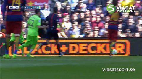 Video: Messi missar straff mot Getafe