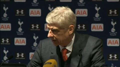Wenger om utvisningen: ''Vi varnade honom''