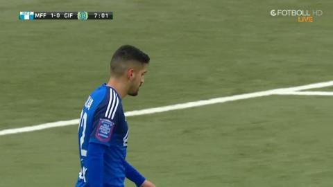 Wiland kommer ut och stör - Silva missar friläget