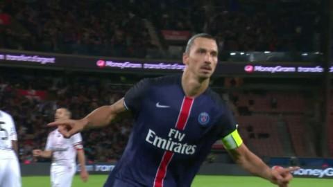 Zlatan bäst någonsin i PSG - se alla hans ligamål från säsongen