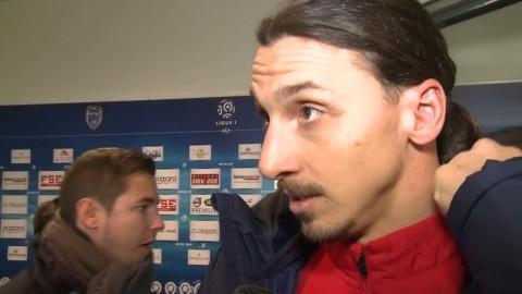 """Zlatan efter de fyra målen: """"Gör mitt jobb, och jag gör det bra"""""""