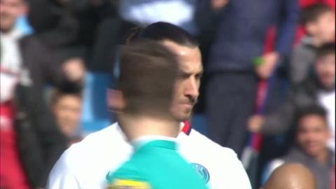 Zlatan stekhet med hattrick på tio minuter - se målen