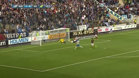 AIK:s självmål ger Norrköping 2-0