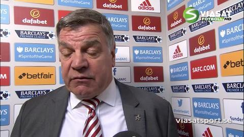 """Allardyce: """"Kan inte vara nöjd med det första målet"""""""
