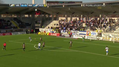Andersson avgör med vacker lobb - i 95:e minuten