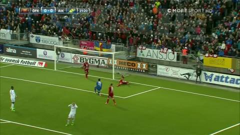 Atta räddar Östersund när AIK får dubbelchans
