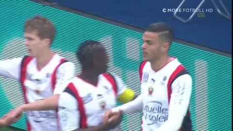 Ben Arfa låter vänsterfoten tala - praktskott till 1-1 mot PSG