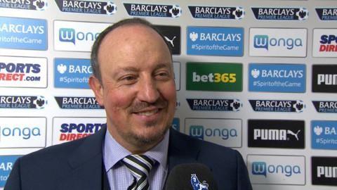 """Benitez efter segern: """"De visade passion"""""""