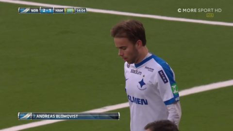 Blomqvist gör sitt första allsvenska mål för året - placerar in 2-1