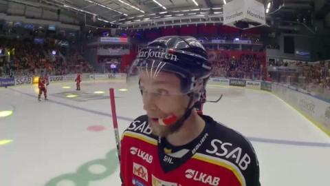 """Domaren Patrik Sjöbergs snackar roliga citat: """"Hördu din lilla björnhövding!"""""""