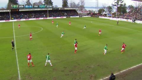 Dundertabbe ger J-Södra 1-1 mot Falkenberg