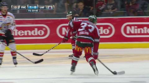 Fälth gör 1-0 för Frölunda i första semin mot Luleå