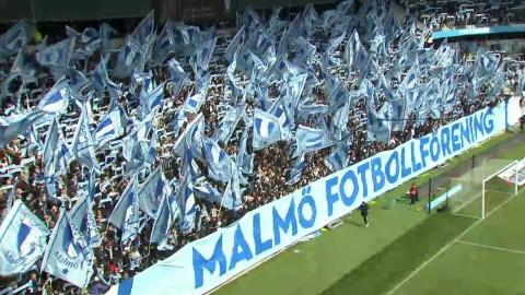 Fin inramning på Swedbank Stadion inför stormötet