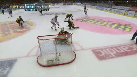Frölunda vann första SM-finalen - efter kontroversiell utvisning