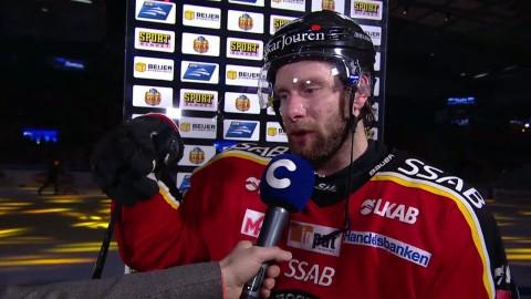 """Granström om pucken som startade slagsmålet: """"Börjar dom får dom tillbaks"""""""