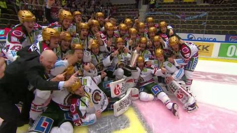 Här skrålar Frölunda SM-guld - så firade mästarna