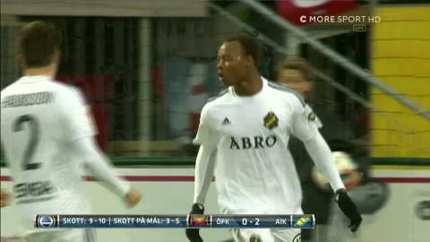 Höjdpunker: Tonåringarna gjorde målen när AIK slog Östersund