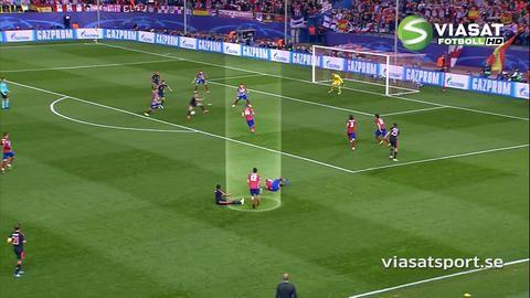 Höjdpunkt: Bojan hyllar Fernandez och Atlético Madrid