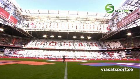 Höjdpunkt: Cruyff hyllas på Amsterdam Arena