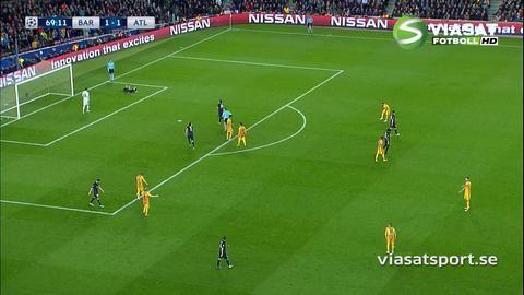 Höjdpunkt: Suarez dubbla hjärnsläpp