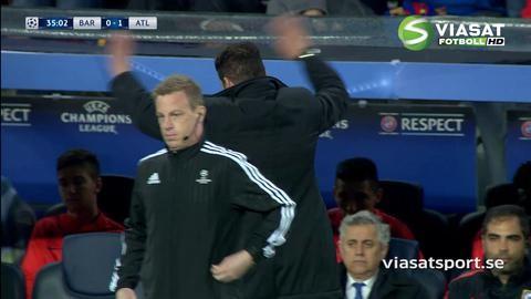 Höjdpunkt: Torres målskytt och utvisad på tio minuter