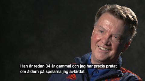 Höjdpunkt: Van Gaal om Zlatans framtid