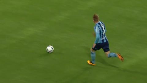 Höjdpunkter: Djurgården mosade Falkenberg - vann med 5-0