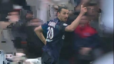 Höjdpunkter: Hattrick av briljant Zlatan när PSG vann