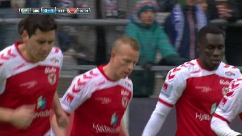 """Höjdpunkter: IFK Göteborg klarade poäng mot Kalmar efter """"helt felaktig"""" straff"""