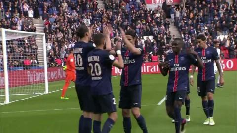 Höjdpunkter: PSG hade lekstuga - Zlatan tvåmålsskytt i 6-0-segern