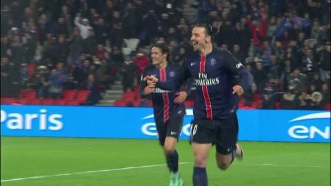 Höjdpunkter: Zlatan tvåmålsskytt i PSG:s nya kross